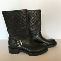 Louis Vuitton Monogram bikerboots