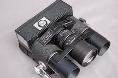 Tasco combination Camera - 7X20 binoculars special camera.