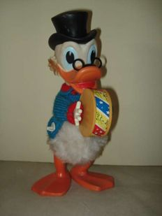 Disney, Walt - Rubber Toy - Uncle Patinhas (ca 1960/1970)