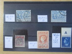 The Netherlands 1907/1940 – Five plate errors