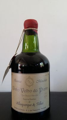 1910 Colheita Port Quinta Mouchao - bottled in 1960