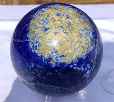 Madani quality, hand-polished Lapis Lazuli - 85mm - 988gm