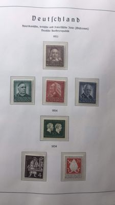 Federal Republic of Germany 1954 / 1989 – a collection on album pages