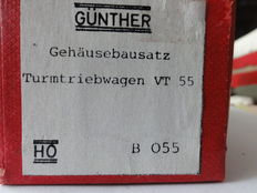 Günther H0 - B 055 – Construction kit for overhead assembly car VT55, without motor