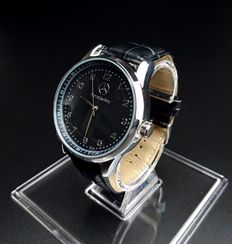 Mercedes-Benz - Watch of the brand VARENS in stainless steel and leather band