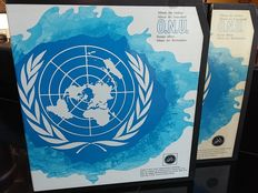 UN. United Nations – 1951/1986 – complete collection in two GBE albums