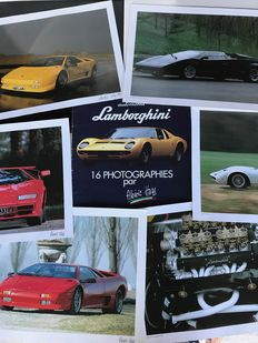 Lamborghini - collection of 16 photographs, dimensions 30 cm x 40 cm by Albéric Haas