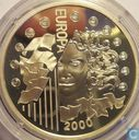 "France 6,55957 francs 2000 ""Introduction of the euro"""