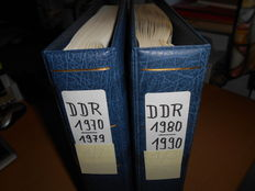 GDR of East Germany 1970-1990 - complete collection in two Lighthouse albums