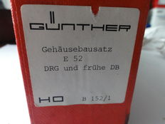 Günther H0 - B152 – construction kit of housing for E-locomotive E52 of the DRG