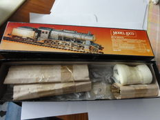 Model Loco H0 - ML208 - Building Kits package for a Steam locomotive with towed tender BR59 of the Württ. K, with motor