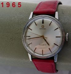 O M E G A -- geneva -- men's model -- 1965 + Warranty!