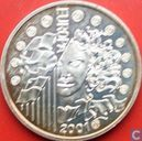"""France 6,55957 francs 2001 """"The last euro conversion coin"""""""