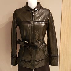 Ferrè - leather jacket