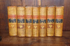 Homére l'iliade et l'odyssée traduction Bitaube in 7 bindings and 12 volumes complete - 1796