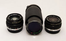 Lot of 3 Olympus Lenses