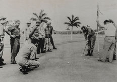 Alberto Korda (1928-2001) - Fidel Castro and Che Guevara playing golf - Cuba - 1961