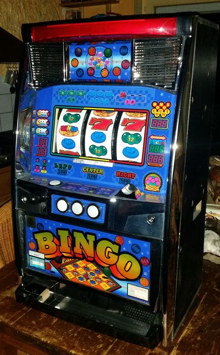 Pachislo, Original Bingo Machine, 1,2,3 Bet - period late 20th, early 21st century.