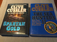 two Clive Cussler first editions - 2002 / 2009