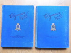 Third Reich 1936 Olympics - Anthology 1 + 2 Berlin and Garmisch-Partenkirchen 1936 Albums