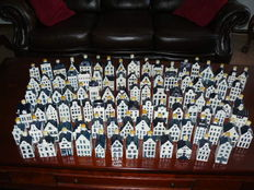 Complete collection of 97 KLM houses including house of bols and Groningen.
