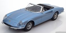 KK Scale - Scale 1/18 - Ferrari 365 California Spyder 1966 - Colour: Light blue Metallic