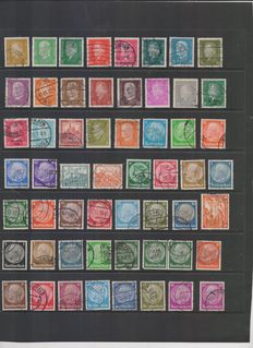 German Reich - Collection of cancelled and new - Michel Catalogue no. 410 to 908 + Forces postal service