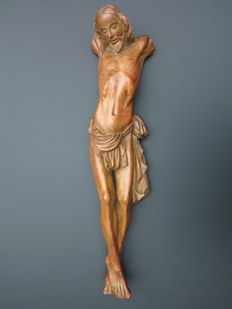 A carved limewood Corpus Christi - Germany - 18th century