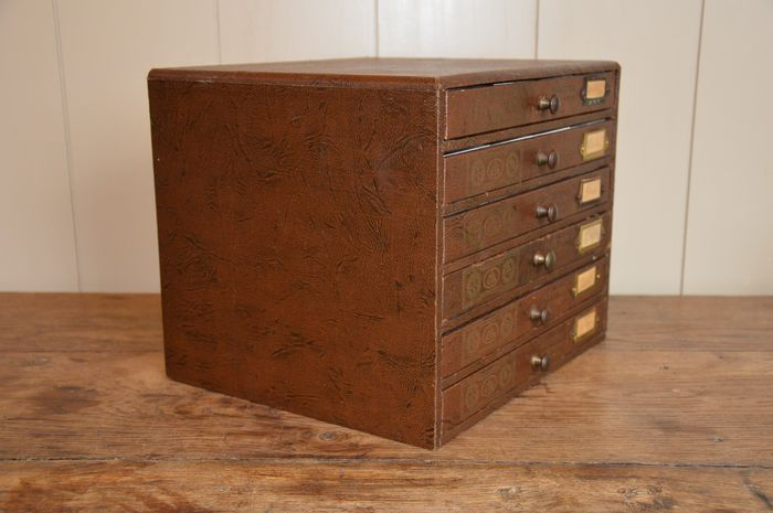 Louis Vuitton   Thread /haberdashery Cabinet With Six Drawers