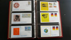 The Netherlands 1968/1995 – Collection Trumpet FDCs and covers 'Zegelkoerier'.