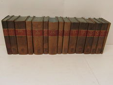 Georg Wilhelm Friedrich Hegel - Werke - 18 (out of 19) volumes in 15 bands. - 1832/1840
