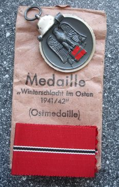 East Medal / Winter Battle in the East / WW II / with manufacturer