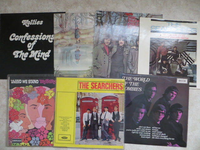 POP, Psych Pop - Various Artists - lot of seven (7) rare  LP's from the sixties and early seventies