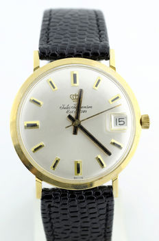 Jules Jürgensen – Men's wristwatch – 14 kt gold – Circa 1970