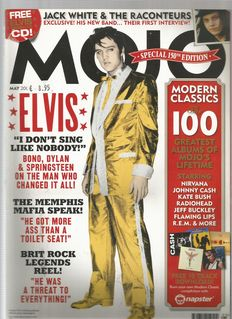 Elvis Presley   Set of 5  Collector's Music magazines, all with promo CD.