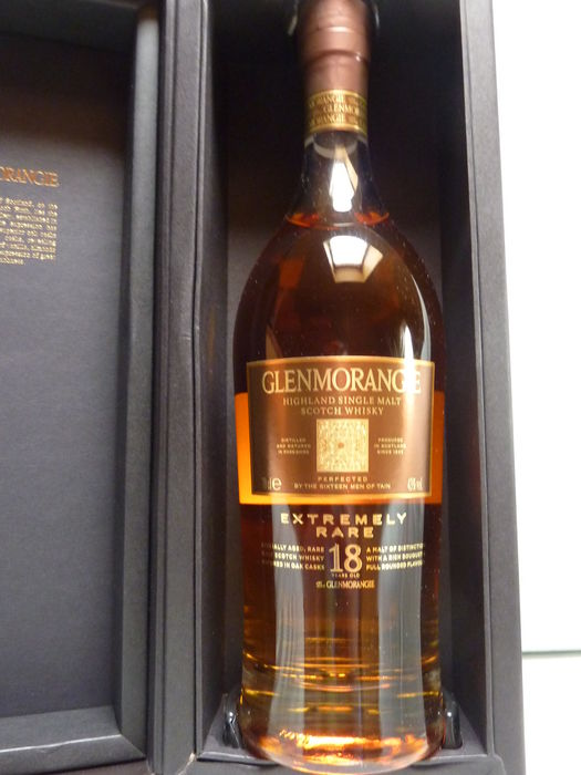 Glenmorangie 18 years old Exteremely rare - 70cl