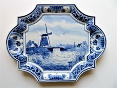 Porceleyne Fles - ( Royal Delft) -  Nice, classic wall plate from 1952