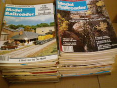 Model Railroader - no. 64 magazines all in English language - complete with all their beautiful photos