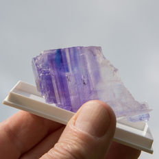 Halite with rare colours blue and purple - 71 x 33 mm - 135gr