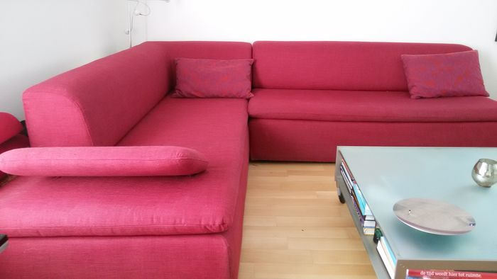 Two design sofas, both corner and bed sofa - model Bravo - Catawiki