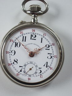 Pocket watch Roskopf Patent --- men's model