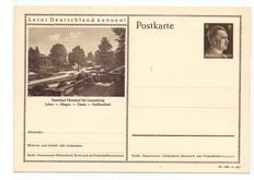 Luxembourg 1940 to 1945 – Occupation collection: Letters, Documents, Postcards.
