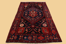 Hand-knotted Persian carpet Hamadan approx. (267x146) cm