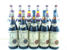 1x 1970, 3x 1971, 4x 1973 & 3x 1978 Barbaresco DOCG, Produttori del Barbaresco, Piedmont - 11 bottles total (75cl)
