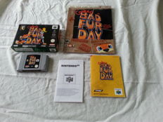 Nintendo 64 -  Conker's  Bad Fur Day  - boxed
