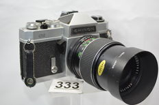 Beautiful Chinon CS camera with 2.8 135 mm lens by kenlock