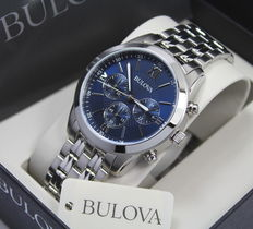 Bulova – Men's Luxury Sport Chronograph Watch – New & Mint Condition