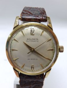 GoldWyn Automatic. Gentlemen's wristwatch.  Ca.