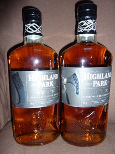 2 bottles - Highland Park Einar Warrior Edition + Highland Park Svein Warrior Edition