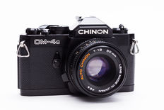 Chinon CM-4s + Chinon 50mm 1.9 + Filter/Strap